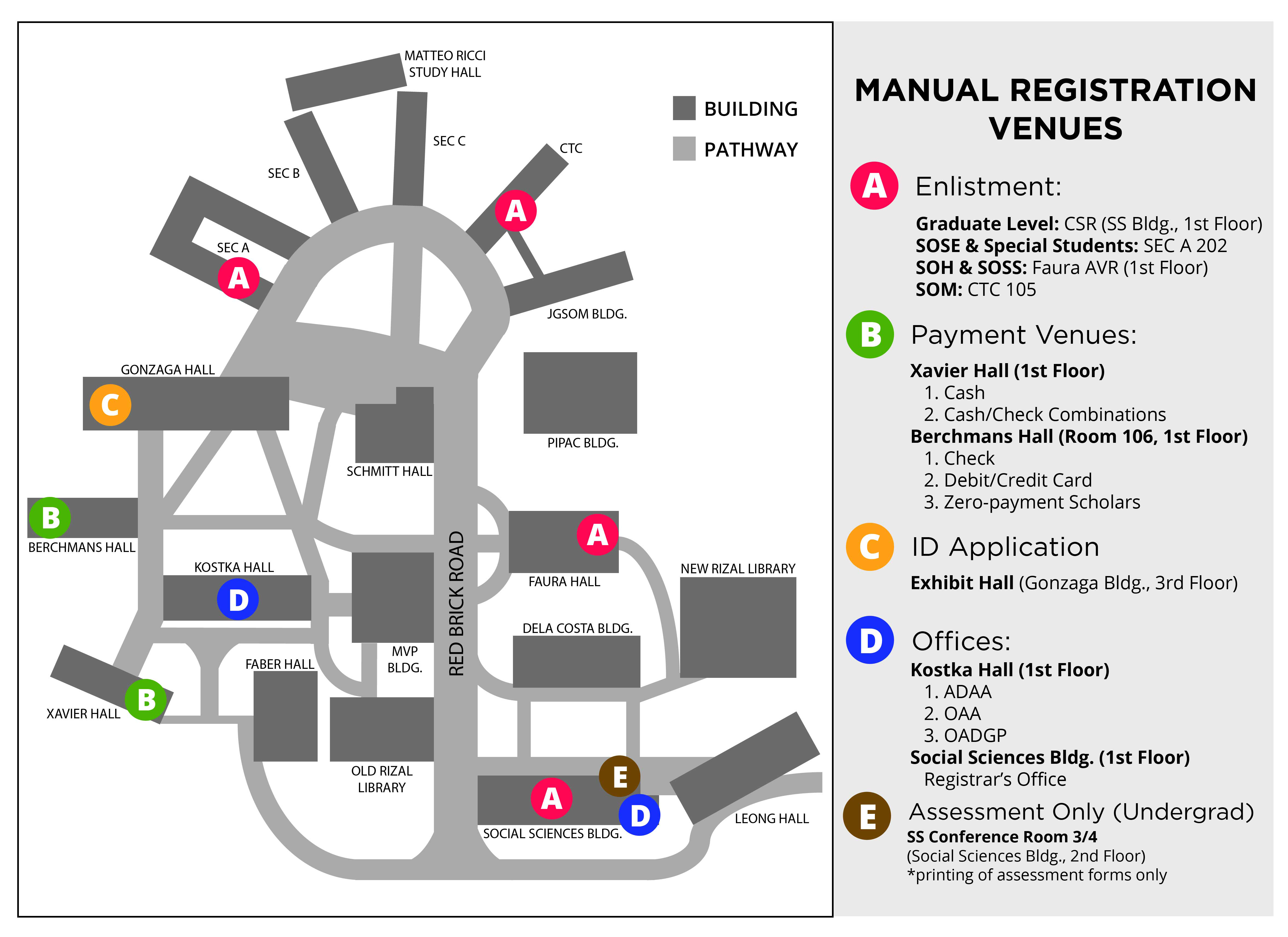 Loyola Spain Map.Ateneo Registration Committee